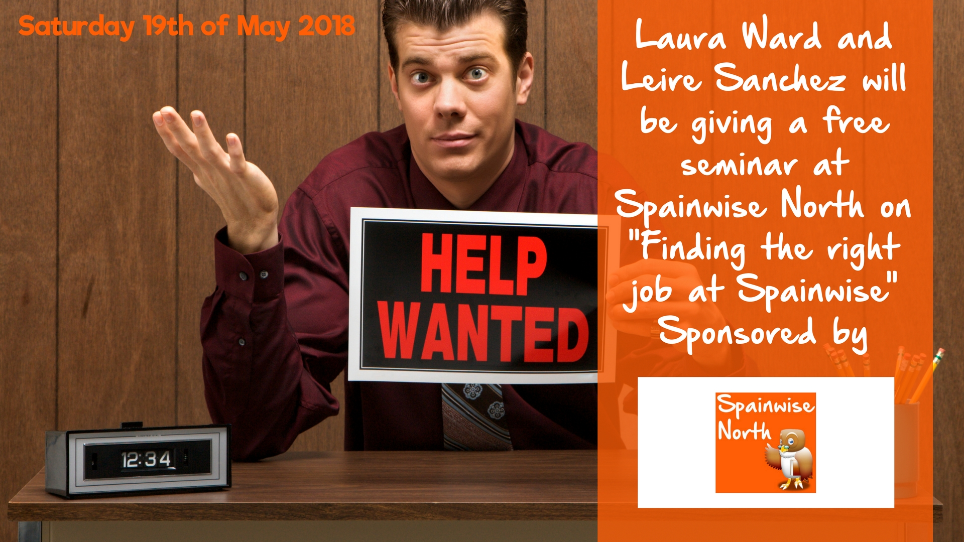 Find the Right Job for YOU at Spainwise 2018