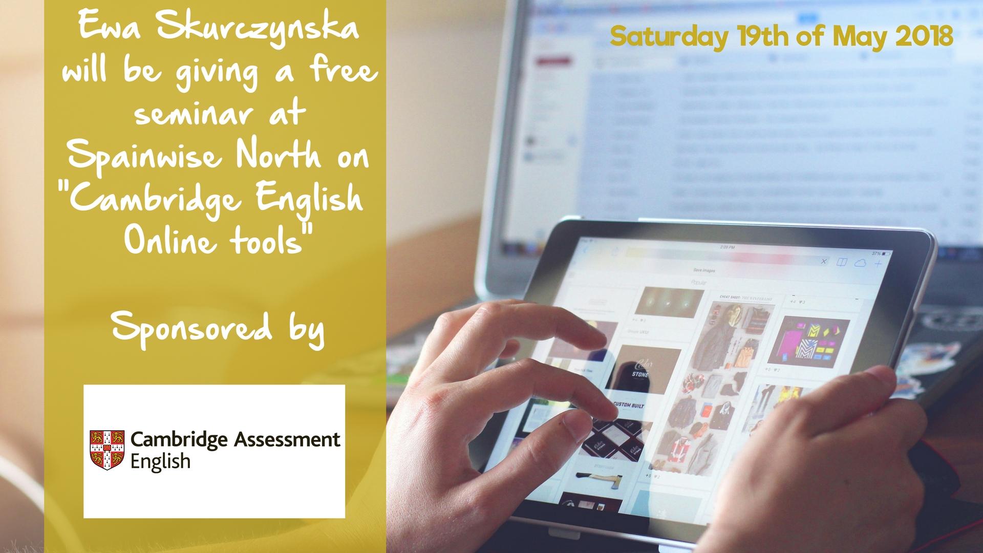 Cambridge English – Online tools